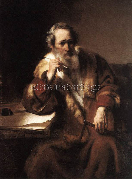 NICOLAES MAES APOSTLE THOMAS ARTIST PAINTING REPRODUCTION HANDMADE CANVAS REPRO