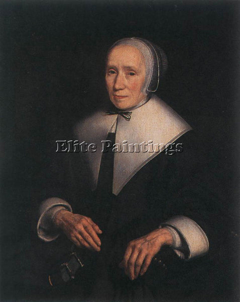 NICOLAES MAES PORTRAIT OF A WOMAN 2 ARTIST PAINTING REPRODUCTION HANDMADE OIL