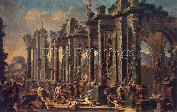 ALESSANDRO MAGNASCO BACCHANALIAN SCENE ARTIST PAINTING REPRODUCTION HANDMADE OIL