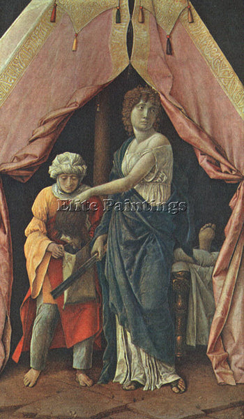 ANDREA MANTEGNA JUDITH AND HOLOFERNES ARTIST PAINTING REPRODUCTION HANDMADE OIL