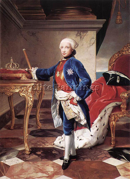 ANTON RAPHAEL MENGS FERDINAND IV KING OF NAPLES ARTIST PAINTING REPRODUCTION OIL