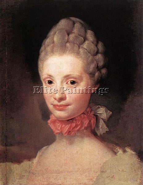 ANTON RAPHAEL MENGS MARIA LUISA OF PARMA ARTIST PAINTING REPRODUCTION HANDMADE