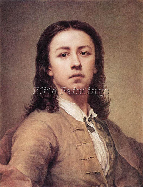 ANTON RAPHAEL MENGS SELF PORTRAIT 1 ARTIST PAINTING REPRODUCTION HANDMADE OIL