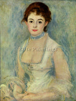 RENOIR MADAME HENRIOT ARTIST PAINTING REPRODUCTION HANDMADE OIL CANVAS REPRO ART