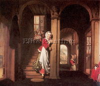 DUTCH MAES NICOLAES DUTCH 1634 1693 MAES4 ARTIST PAINTING REPRODUCTION HANDMADE