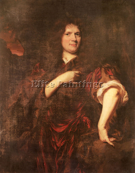 NICOLAES MAES PORTRAIT OF LAURENCE HYDE EARL OF ROCHESTER ARTIST PAINTING CANVAS