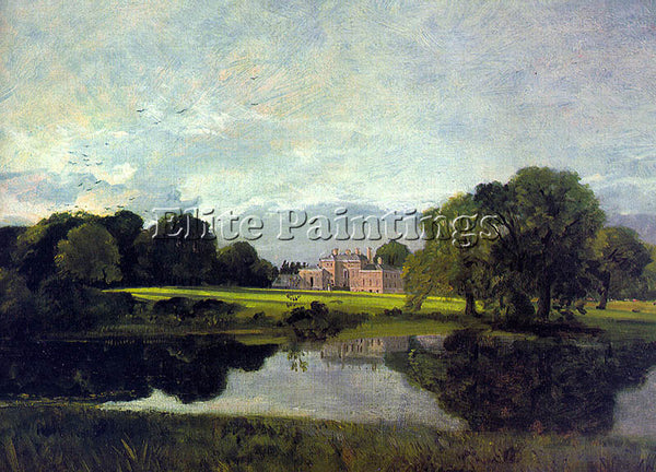 JOHN CONSTABLE MALVERN HALL ARTIST PAINTING REPRODUCTION HANDMADE OIL CANVAS ART