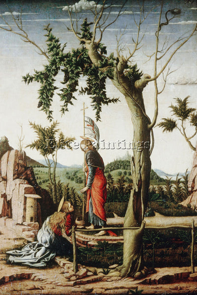 ANDREA MANTEGNA NOLI ME TANGERE ARTIST PAINTING REPRODUCTION HANDMADE OIL CANVAS