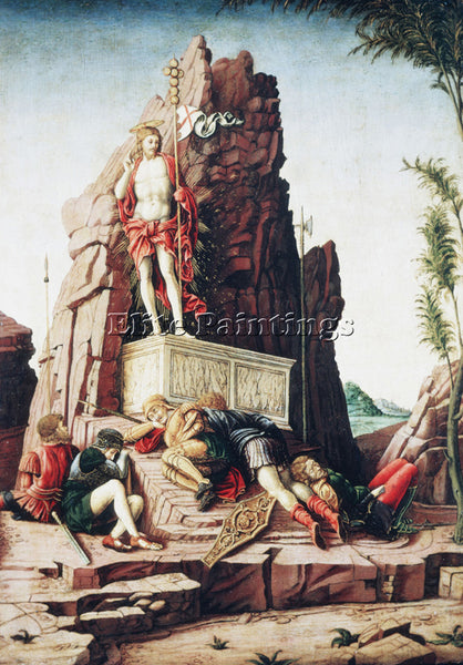 ANDREA MANTEGNA THE RESURRECTION ARTIST PAINTING REPRODUCTION HANDMADE OIL REPRO