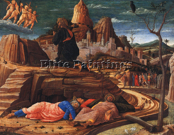 ANDREA MANTEGNA THE AGONY IN THE GARDEN ARTIST PAINTING REPRODUCTION HANDMADE