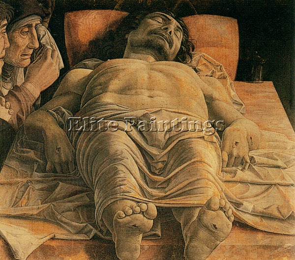 ANDREA MANTEGNA THE DEAD CHRIST ARTIST PAINTING REPRODUCTION HANDMADE OIL CANVAS