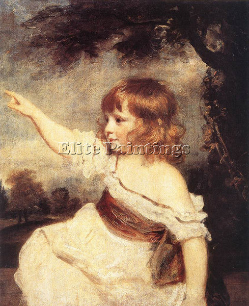 JOSHUA REYNOLDS MASTER HARE ARTIST PAINTING REPRODUCTION HANDMADE OIL CANVAS ART