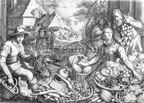 DUTCH MATHAM JACOB DUTCH 1571 1631 ARTIST PAINTING REPRODUCTION HANDMADE OIL ART