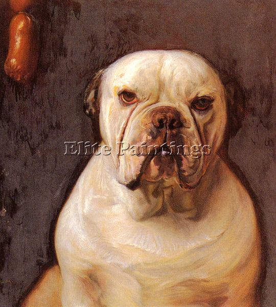 AUSTRALIAN MATSCH FRANZ VON A BULLDOG ARTIST PAINTING REPRODUCTION HANDMADE OIL