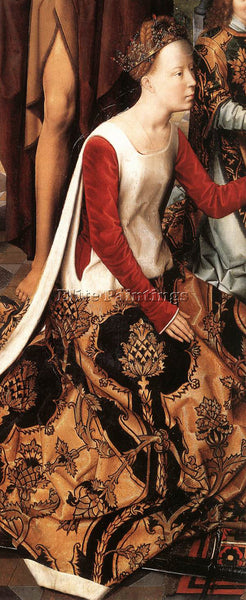 HANS MEMLING ST JOHN ALTARPIECE 1474 9 DETAIL7 CENTRAL PANEL ARTIST PAINTING OIL