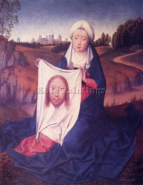 HANS MEMLING ST VERONICA ARTIST PAINTING REPRODUCTION HANDMADE CANVAS REPRO WALL