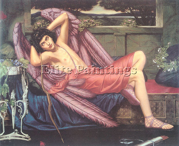 BRITISH METEYARD SIDNEY HAROLD ENGLISH 1868 1947 ARTIST PAINTING HANDMADE CANVAS