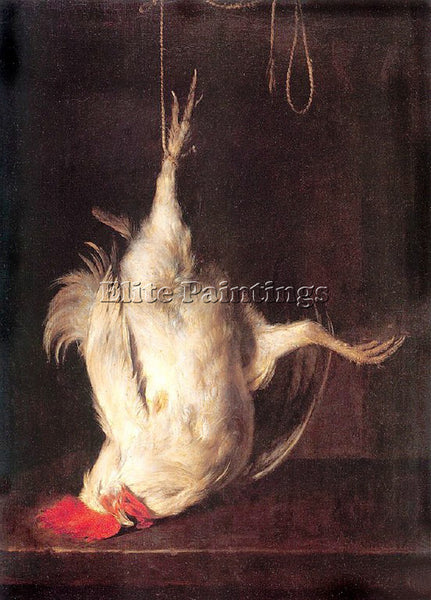 GABRIEL METSU 50COCK ARTIST PAINTING REPRODUCTION HANDMADE OIL CANVAS REPRO WALL