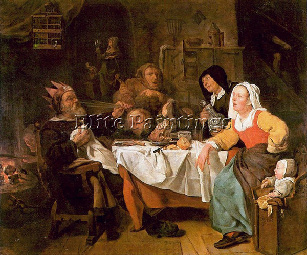 GABRIEL METSU 50LORD ARTIST PAINTING REPRODUCTION HANDMADE OIL CANVAS REPRO WALL