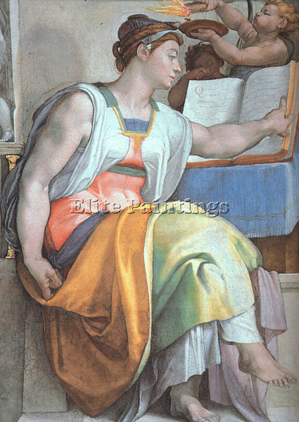 MICHELANGELO 6 ARTIST PAINTING REPRODUCTION HANDMADE OIL CANVAS REPRO WALL  DECO