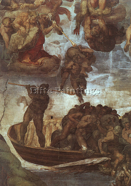 MICHELANGELO MICH24 ARTIST PAINTING REPRODUCTION HANDMADE CANVAS REPRO WALL DECO