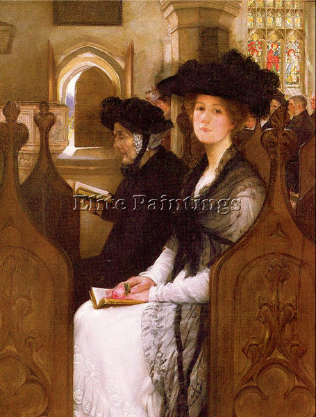 FRANCIS DAVIS MILLET WANDERING THOUGHTS ARTIST PAINTING REPRODUCTION HANDMADE