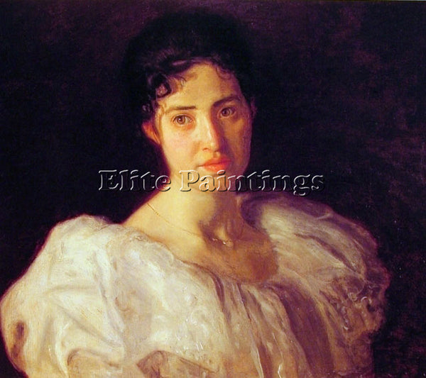 THOMAS EAKINS MISS LUCY LEWIS ARTIST PAINTING REPRODUCTION HANDMADE CANVAS REPRO