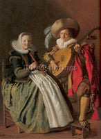 DUTCH MOLENAER JAN MIENSE DUTCH 1610 1668 ARTIST PAINTING REPRODUCTION HANDMADE