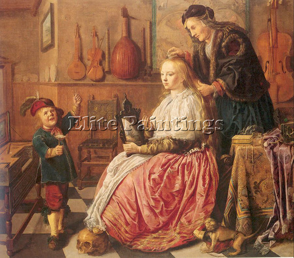 DUTCH MOLENAER JAN MIENSE DUTCH 1610 1668 MOLENAER3 ARTIST PAINTING REPRODUCTION