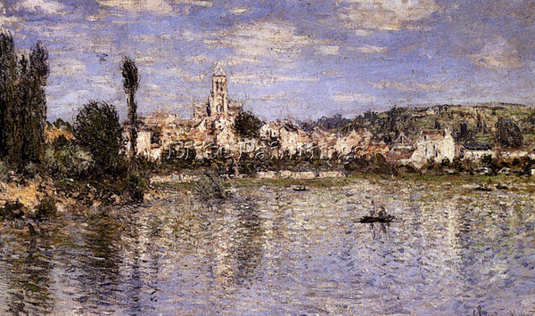 CLAUDE MONET VETHEUIL IN SUMMER 1 ARTIST PAINTING REPRODUCTION HANDMADE OIL DECO