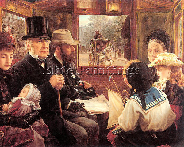BRITISH MORGAN ALFRED ENGLISH 1862 1904 ARTIST PAINTING REPRODUCTION HANDMADE