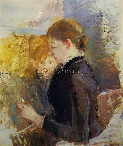 MORISOT BERTHE MISS REYNOLDS ARTIST PAINTING REPRODUCTION HANDMADE CANVAS REPRO