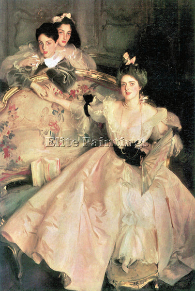 JOHN SINGER SARGENT MRS CARL MEYER AND HER CHILDREN ARTIST PAINTING REPRODUCTION