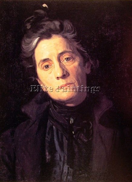 THOMAS EAKINS MRS THOMAS EAKINS ARTIST PAINTING REPRODUCTION HANDMADE OIL CANVAS