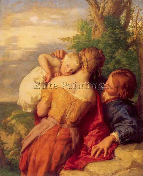 BRITISH MULREADY WILLIAM ENGLISH 1786 1863 ARTIST PAINTING REPRODUCTION HANDMADE