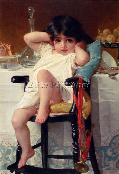 EMILE MUNIER SUGAR AND SPICE ARTIST PAINTING REPRODUCTION HANDMADE CANVAS REPRO