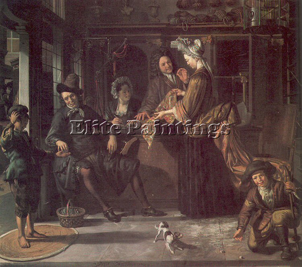 DUTCH NAIVEU MATTHIJS DUTCH 1647 1721 ARTIST PAINTING REPRODUCTION HANDMADE OIL