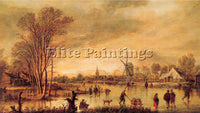 DUTCH NEER AERT VAN DER DUTCH 1604 77 1 ARTIST PAINTING REPRODUCTION HANDMADE