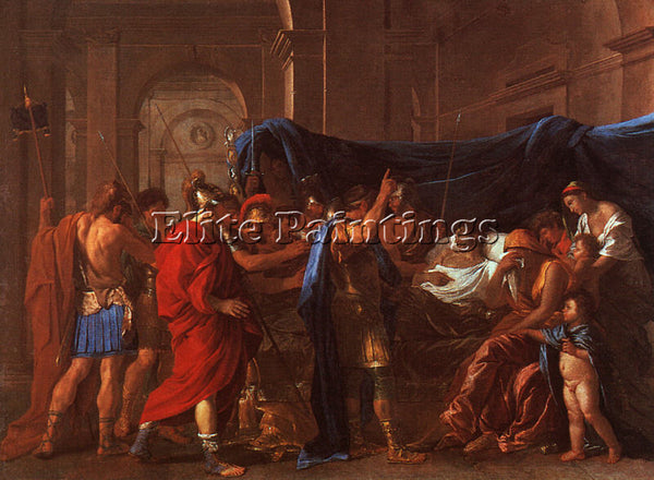 NICOLAS POUSSIN POU21 ARTIST PAINTING REPRODUCTION HANDMADE OIL CANVAS REPRO ART
