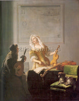 DUTCH OCHTERVELT JACOB DUTCH 1634 82 3 ARTIST PAINTING REPRODUCTION HANDMADE OIL