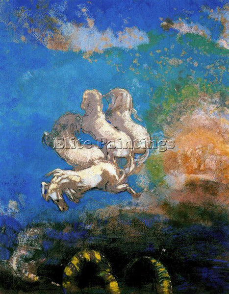 ODILON REDON REDO127 ARTIST PAINTING REPRODUCTION HANDMADE OIL CANVAS REPRO WALL