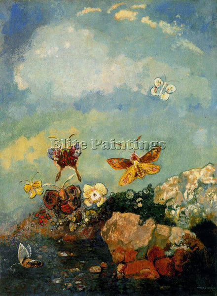 ODILON REDON REDO133 ARTIST PAINTING REPRODUCTION HANDMADE OIL CANVAS REPRO WALL