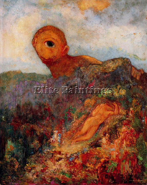 ODILON REDON REDO137 ARTIST PAINTING REPRODUCTION HANDMADE OIL CANVAS REPRO WALL