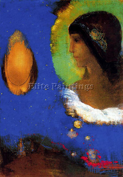 ODILON REDON REDO142 ARTIST PAINTING REPRODUCTION HANDMADE OIL CANVAS REPRO WALL