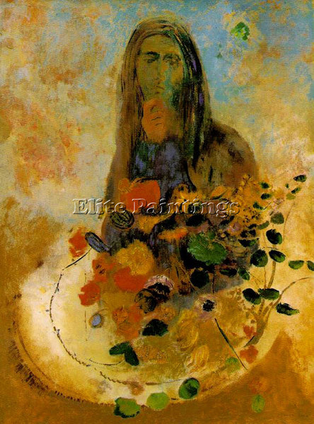 ODILON REDON REDO144 ARTIST PAINTING REPRODUCTION HANDMADE OIL CANVAS REPRO WALL