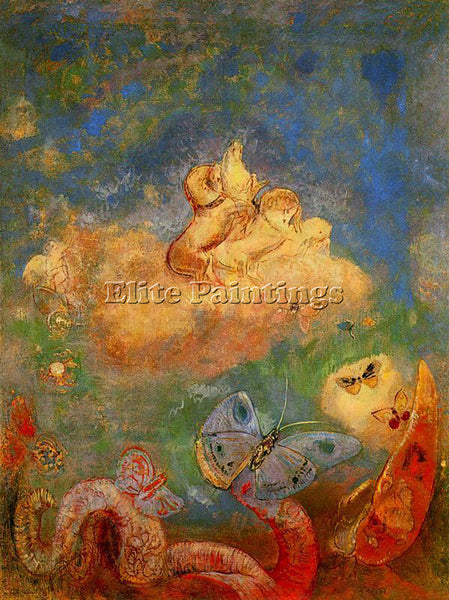 ODILON REDON REDO145 ARTIST PAINTING REPRODUCTION HANDMADE OIL CANVAS REPRO WALL