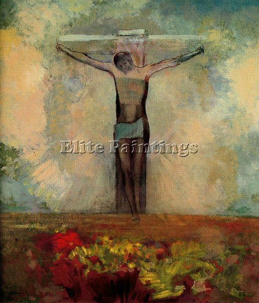 ODILON REDON REDO146 ARTIST PAINTING REPRODUCTION HANDMADE OIL CANVAS REPRO WALL