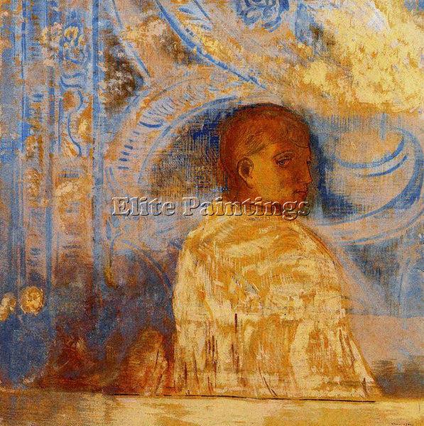 ODILON REDON REDO147 ARTIST PAINTING REPRODUCTION HANDMADE OIL CANVAS REPRO WALL