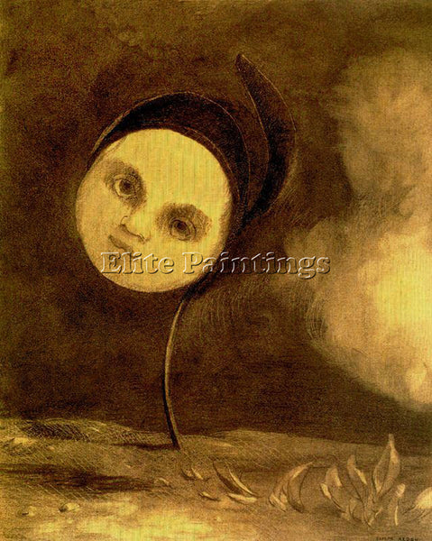 ODILON REDON REDO162 ARTIST PAINTING REPRODUCTION HANDMADE OIL CANVAS REPRO WALL