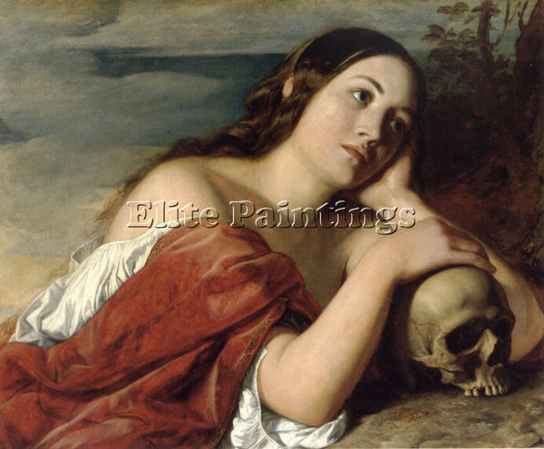 WILLIAM DYCE OMNIA VANITAS ARTIST PAINTING REPRODUCTION HANDMADE OIL CANVAS DECO